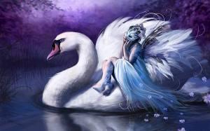 Woman_Riding_Swan